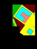 Atribución de usos de los edificios del faro de la Mola