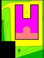 Atribución de usos de los edificios del faro de des Penjats